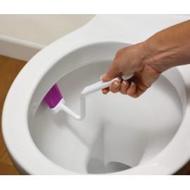 Kartáček na čištění hran záchodové mísy