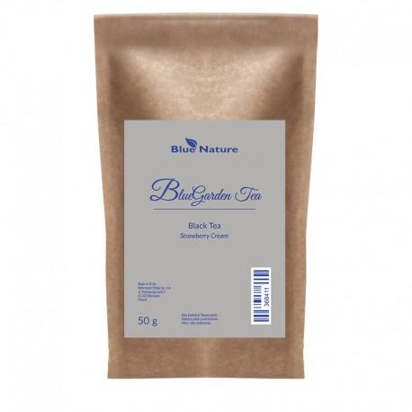 Černý čaj Strawberry Cream