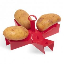 Stojan na vaření brambor v mikrovlnné troubě