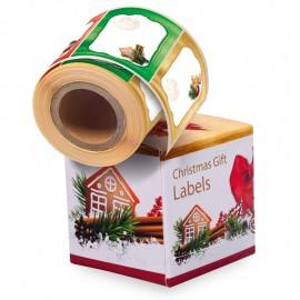 Nálepky na dárky