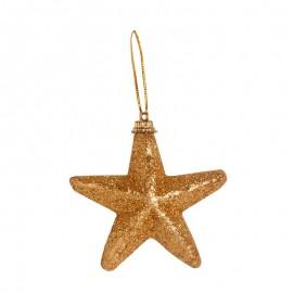 Nerozbitné baňky - hvězdy zlaté