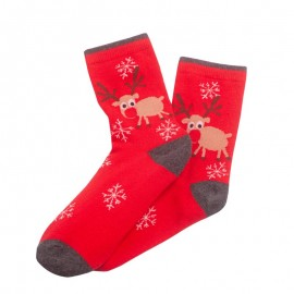 Vánoční ponožky červené