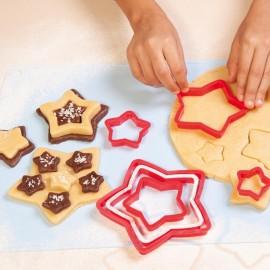 """Sada vykrajovátek na sušenky """"Hvězdičky"""""""