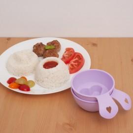 Formičky na rýži a pyré